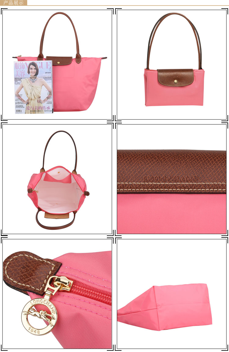 1948年,Jean Cassegrain 创办了Longchamp,产品包括皮烟斗至手袋、皮带、皮手套等。Jean Cassegrain率先以皮革套在烟斗柄上,令一个烟斗显得气派万千,一下子受到市场的青睐,连美国一代摇滚乐巨子猫王普莱斯利 Elvis Presley 亦是其拥戴者。Longchamp 不断扩展产品种类,而第一个手袋于70年代末正式诞生。Longchamp以绝佳的法国传统作工,领先时尚的设计,轻便实用的折叠概念、以及平实亲切的售价闻名全球。Longchamp 近年更积极跟国际著名艺术家合作