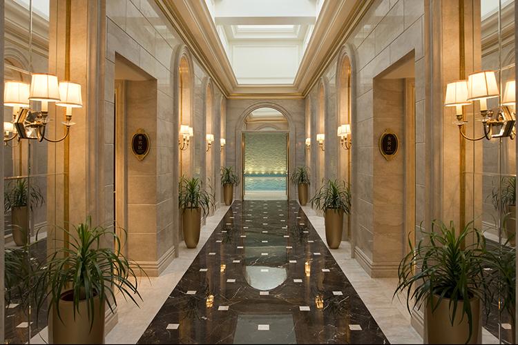500平米的欧式穹顶豪华宴会厅