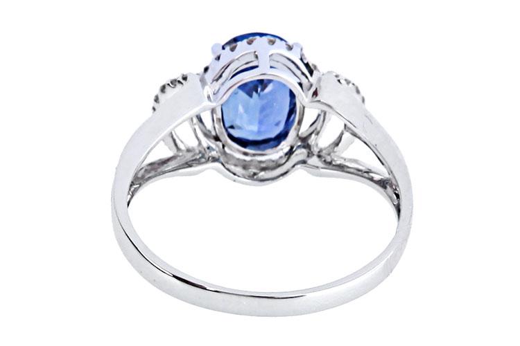 伊斯兰花边宝石戒指