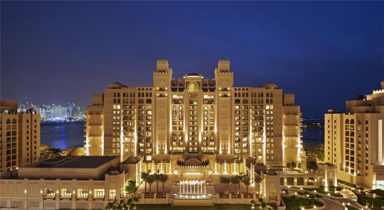 迪拜棕榈岛费尔蒙酒店(fairmont the palm)双金费尔蒙客房