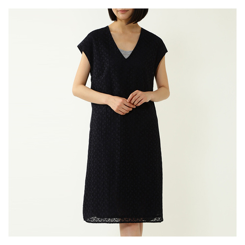 2016ss女士棉质刺绣花边连衣裙