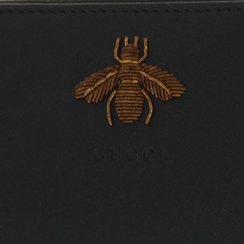 gucci/古驰 男士 牛皮 经典蜜蜂装饰 钱包 br