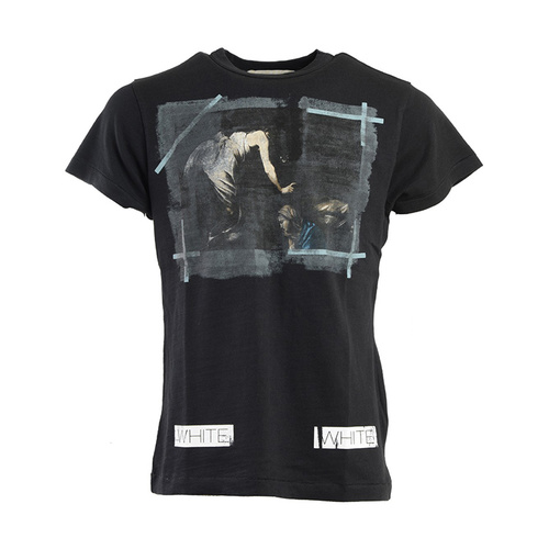 个性人物印花男士纯棉短袖t恤,设计独特,版型宽松,彰显男士风采