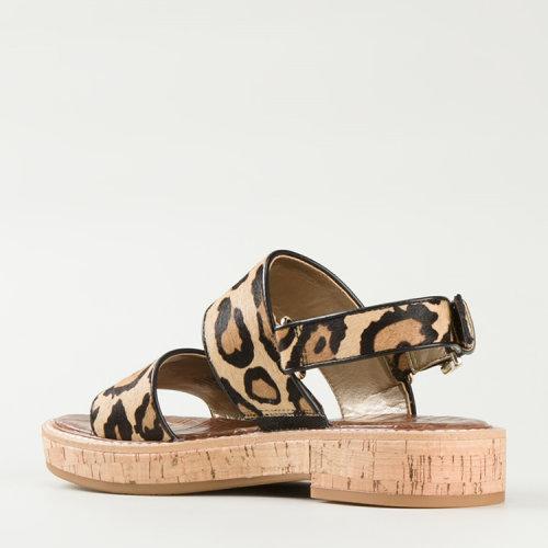 动物花纹凉鞋of
