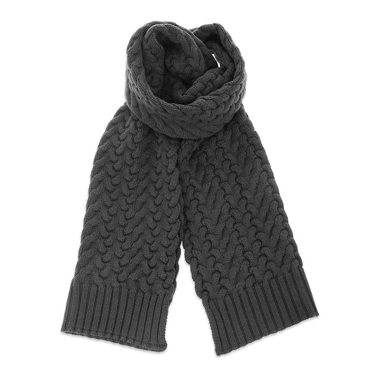 男士 羊毛 时尚编织花纹