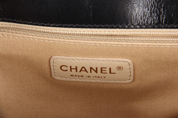 哪种chanel(香奈儿) 黑色金链单肩包大号leboy好_ chanel(香奈儿)