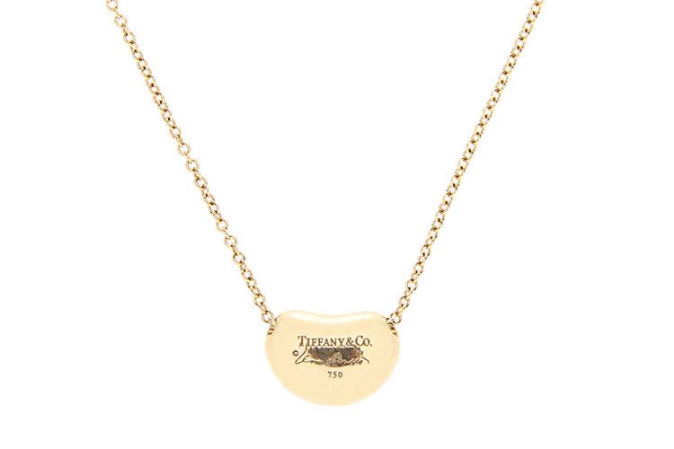 Tiffany Co. 蒂芙尼 黄金豆豆项链