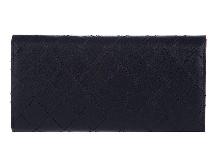 chanel(香奈儿) #黑色皮质手包