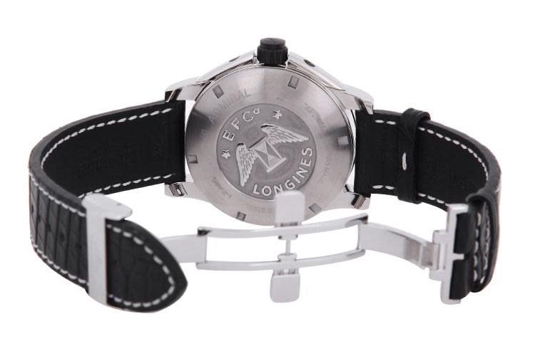 longines/浪琴海上将系列男式自动机械腕表l3.668