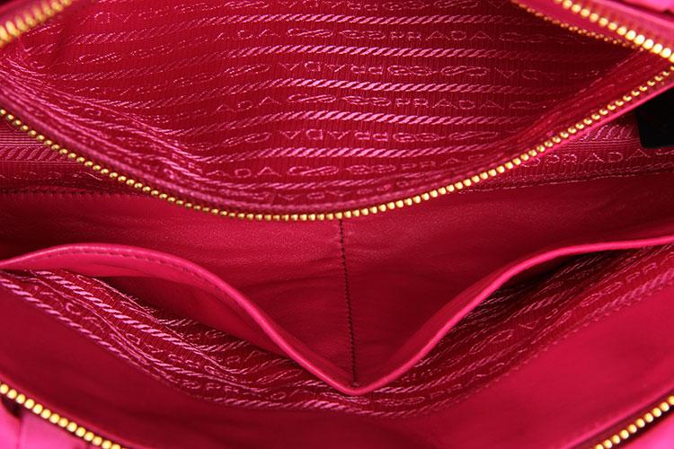 prada(普拉达) 玫红色尼龙两用包