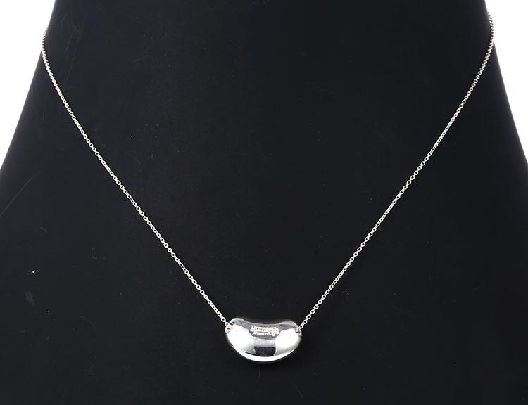 Tiffany Co. 蒂芙尼 925银大豆豆项链