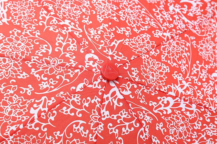 剪纸雨伞图案步骤图片