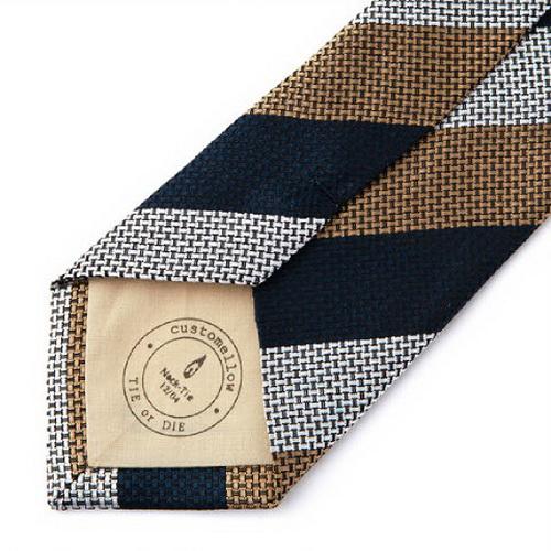 小领带的韩国系法图解