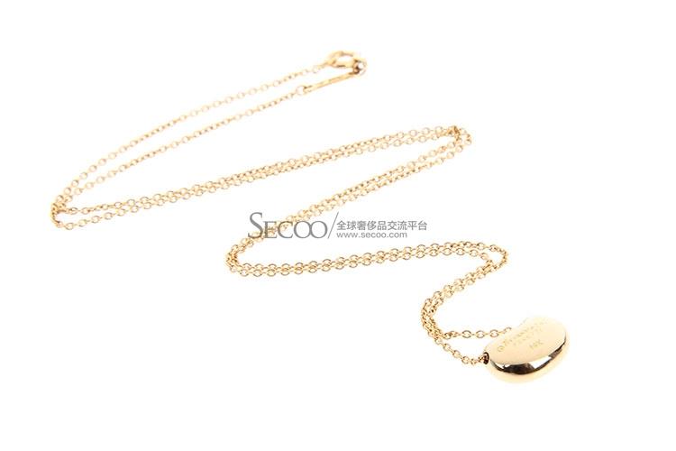 Tiffany Co. 蒂芙尼 18K黄金豆豆项链