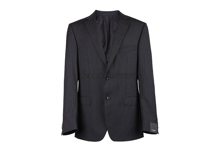 zegna(杰尼亚) 深蓝竖条纹西装套装52