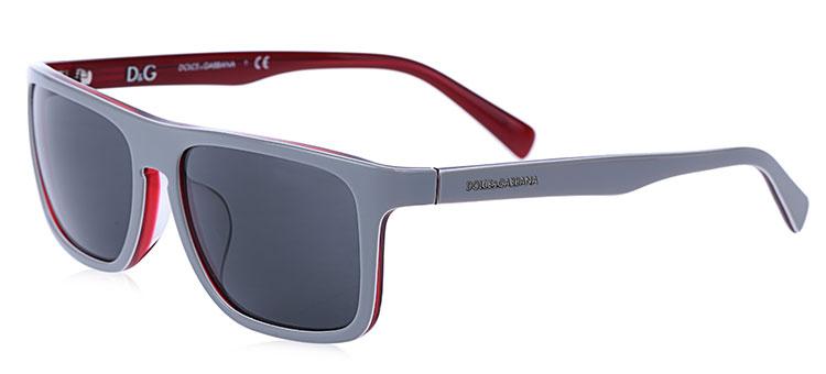 灰色边框太阳眼镜