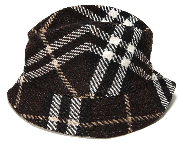 burberry(博柏利) 黑白格帽子l