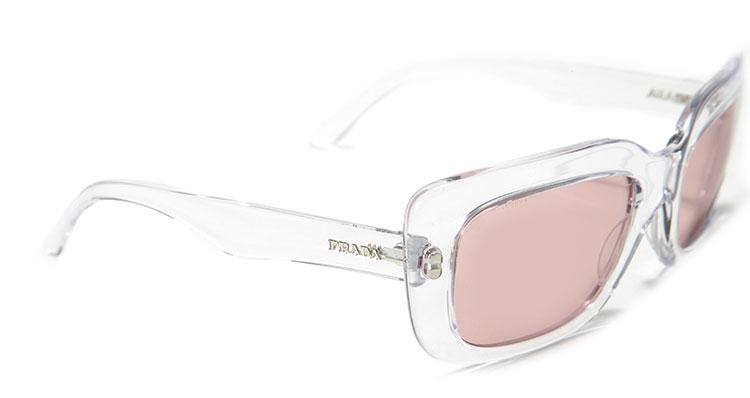 白色透明边框镜