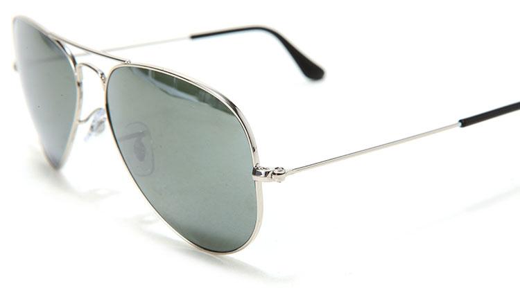 【ray-ban雷朋 眼镜】ray-ban(雷朋) 银色边框水银镜