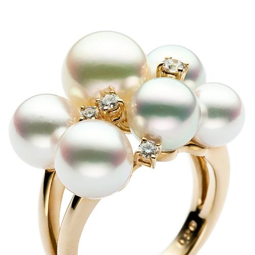tasaki阿古屋珍珠戒指#rpi-4306-ygk18