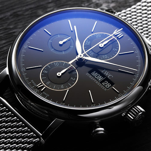 iwc/萬國柏濤菲諾系列男式自動機械腕表iw391012圖片