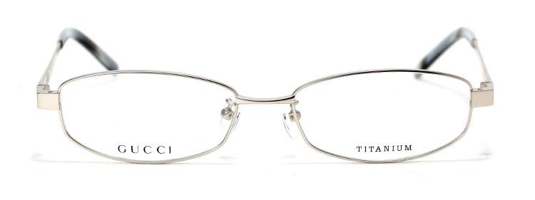 gucci(古驰) 银色边框光学眼镜