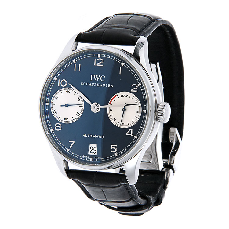 iwc(萬國) 葡萄牙系列laureus勞倫斯314/1000限量版男士機械腕表圖片