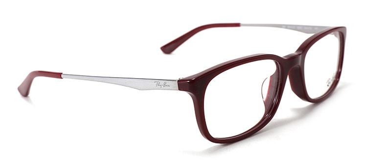 ray-ban(雷朋) 酒红色边框光学眼镜