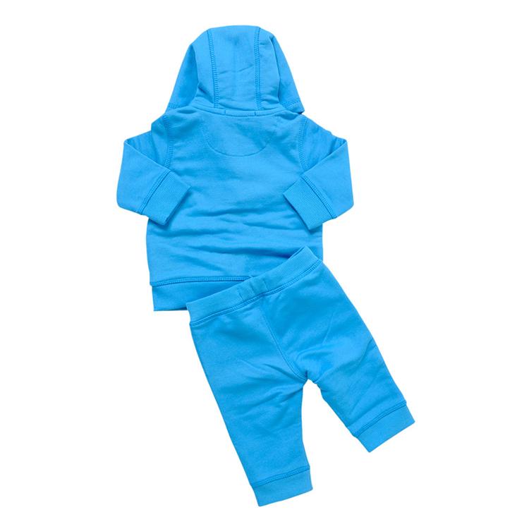 burberry博柏利男童浅蓝色棉儿童套装 b08290--755 浅