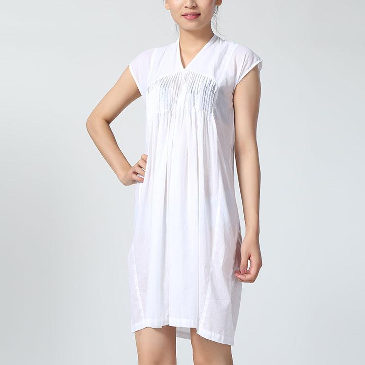 无��il�+i�k�_il parco(意派客)stefano mortari女装白色连衣裙yy1313.