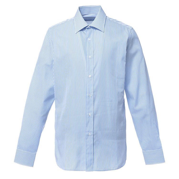 prada/普拉达/蓝白色蓝条纹衬衫 藏蓝 40团购,|prada