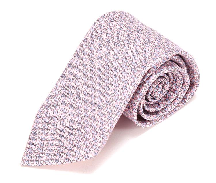 拉链领带的方法图解