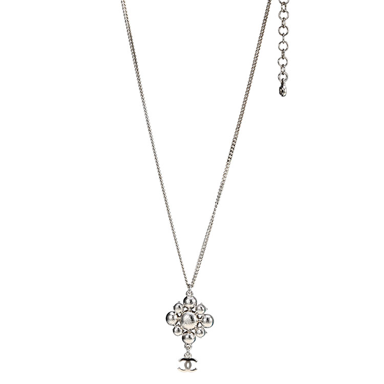 chanel(香奈儿) 巴洛克菱形水晶项链