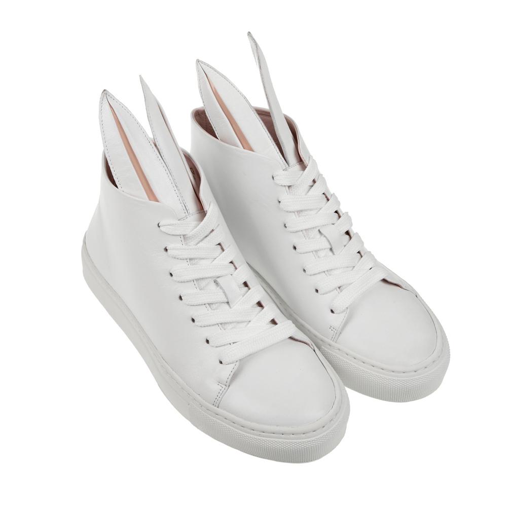 帆布鞋手绘小白兔图案大全