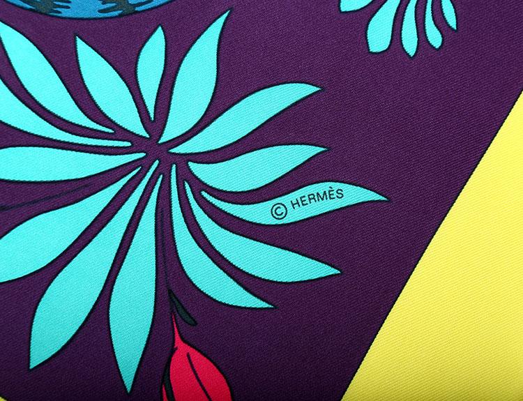 紫色围巾花纹素材