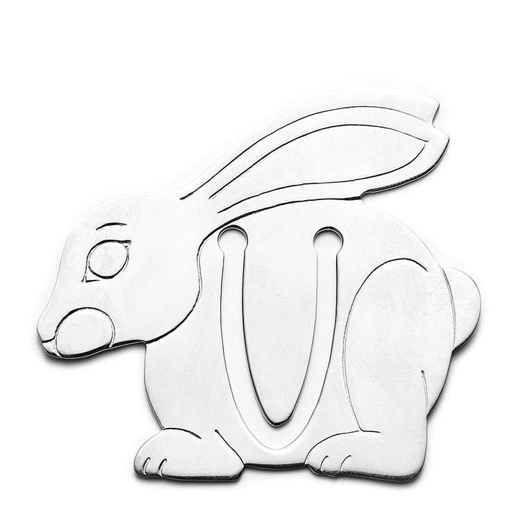 (蒂芙尼) 兔子形925银书签