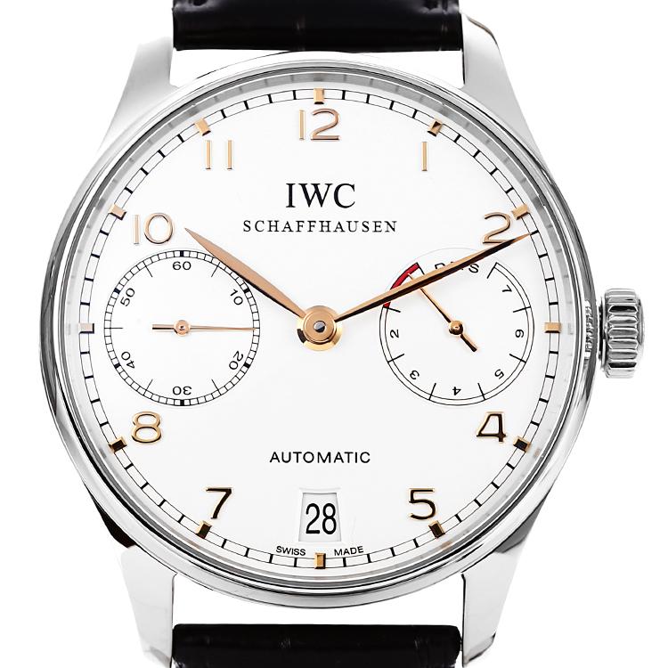 iwc(萬國) iwc/萬國葡萄牙系列男式自動機械腕表iw500114圖片