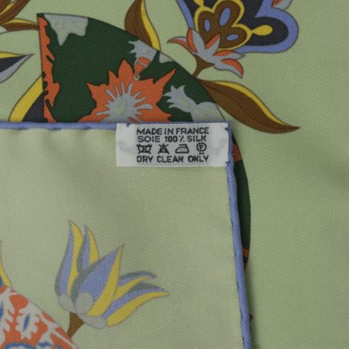 扇子丝巾系法图解