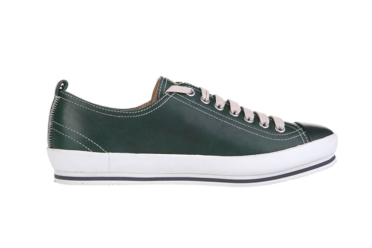 prada/普拉达 绿色白边休闲鞋 男 40