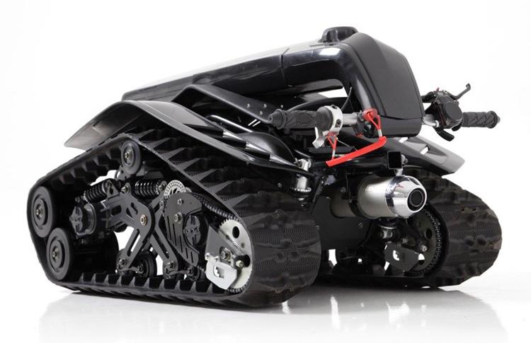 小型滑板摩托电路图