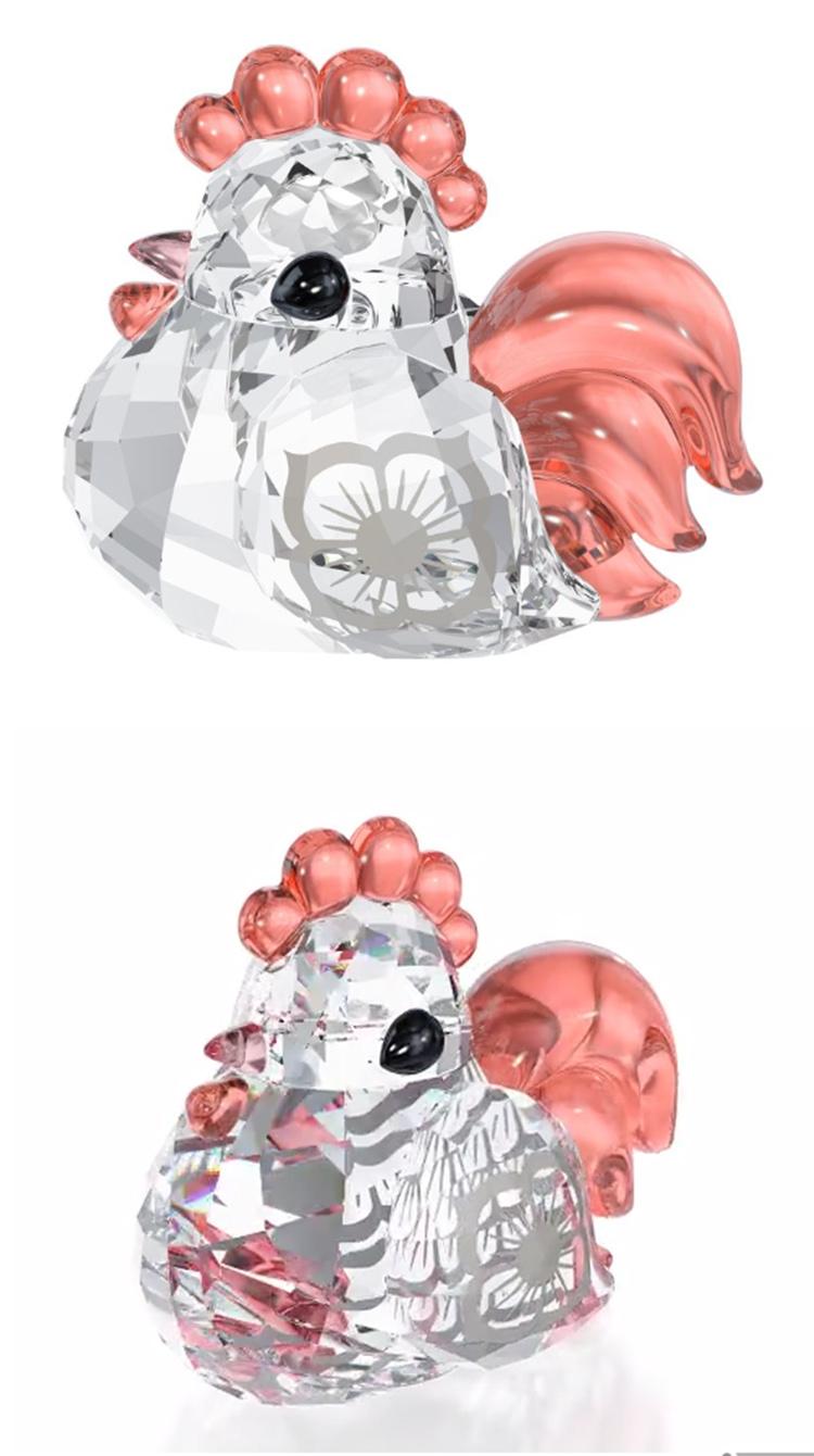 十二生肖可爱水晶摆件