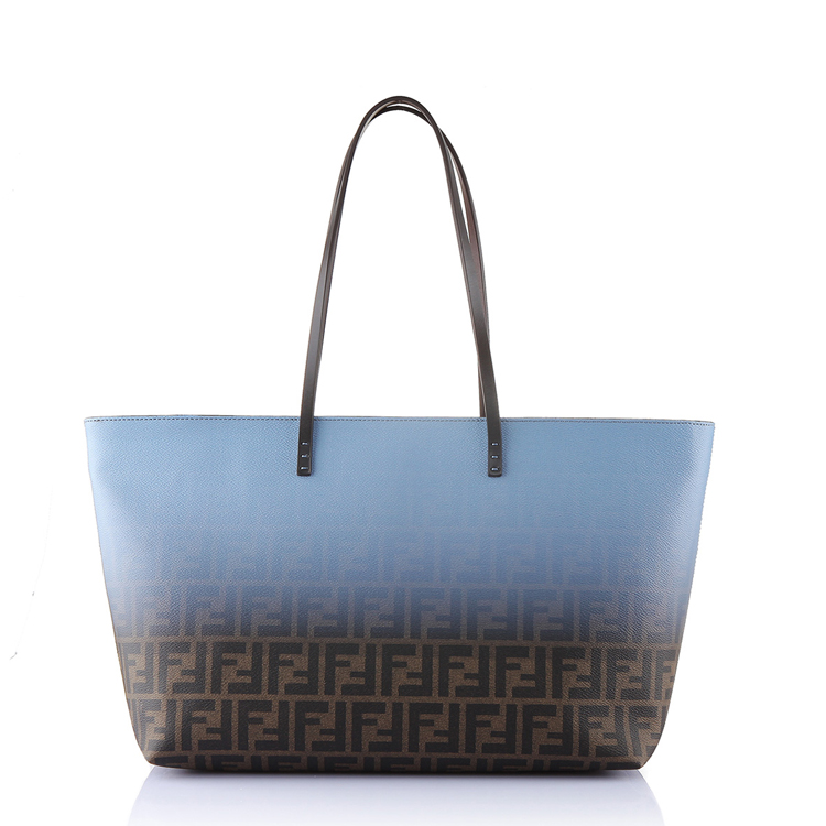 fendi芬迪女士渐变设计f标志手提包