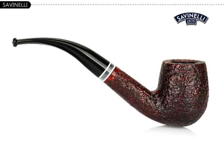 意大利沙芬 sf-p175-606 明星酒红麻面烟斗