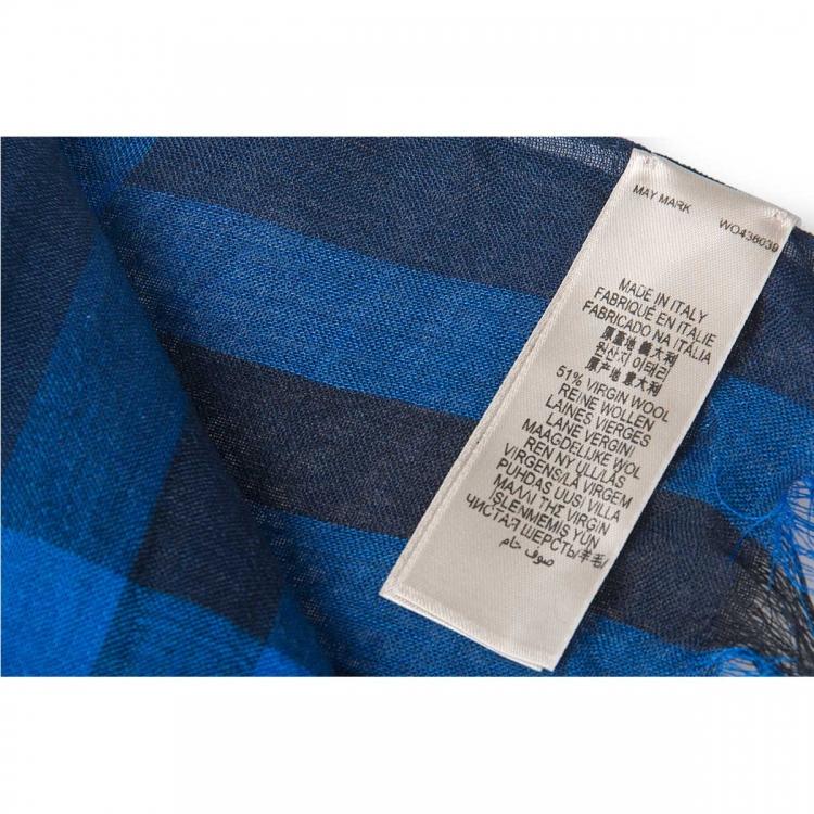 经典款格子花纹围巾