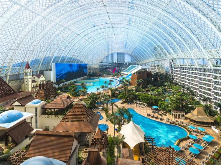 成都环球中心天堂洲际大饭店高级房图片